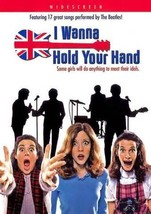 NEW ~ BEATLES INSPIRED MOVIE I WANNA HOLD YOUR HAND   WIDESCREEN DVD - $13.99