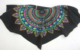 Bikini Swim Top  Medium Xhilaration Multi color Strapless Bandana Style - $9.49