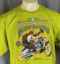 Harley Davidson Aquila Chopper Uomo XL T-Shirt Welcome To Favolosa Las V... - $41.58