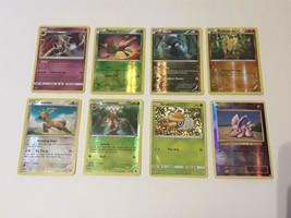8 Ultra Rare Holo POKEMON CARD LOT- Lunala-Yanma- Deino-Stantler-Grubbin + - $16.40