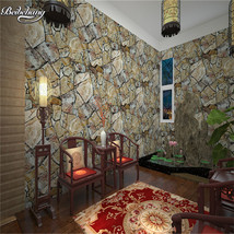 beibehang PVC imitation special cultural stone hall backdrop hotel restaurant - $59.95