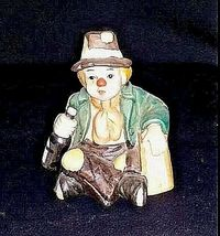 Emmett Kelly Clown Music Box, Plate and Pin AB 536 Vintage 1989 image 8