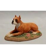 Charmstone Earl Sherman Boxer Dog Figurine - $12.87