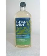 Bath Body Works EUCALYPTUS BASIL Stress Relief Aromatherapy Body Wash Foam Bath - $19.75
