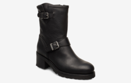 Polo Ralph Lauren BLACK Payge Vachetta Leather Boots, 9B NWOB - $296.01