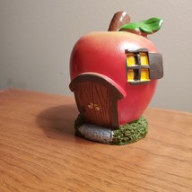 Apple Fairy House, Miniature House, Fairy Garden Crafts, Garden accessories image 3