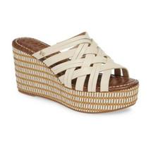 Sam Edelman Womens Beige Tan Devon Wedge Slide Sandals Sz 9 M NIB - €51,24 EUR