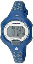 Timex Ironman TW5M07100 Women's Digital Chronograph Sport Watch Blue Res... - $29.99