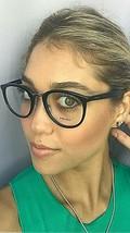 New PRADA VPR 0T3 1AB-1O1 52mm Black Round Eyeglasses Frame #7,8 - $189.99