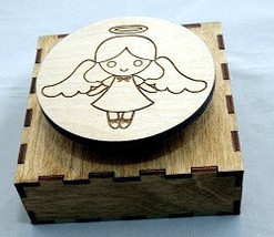 Music Box-Cute as can be Angel 2 Versions - $36.00