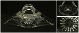 Heisey Elegant Glass Basket Bon Bon Candy Dish Ring Bowl Rolled Extremely Rare! - $24.72