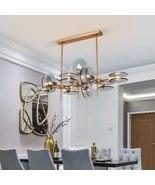 Branching Structure Creative Design Lighting Luxury Glass Hanging Chande... - $1,399.99