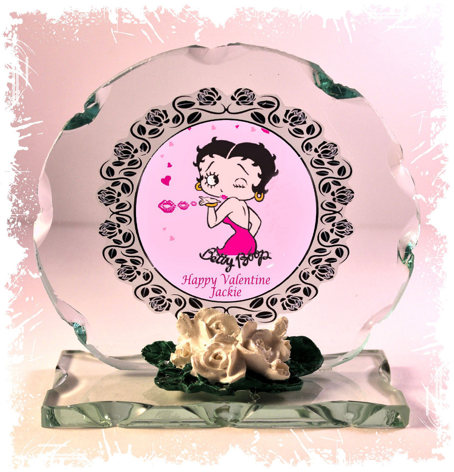 Valentine Betty personalised gift girlfriend wife present Unusual  message #8