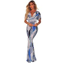 Sexy Deep V Neck Short Sleeve Bodycon Dress - $61.80