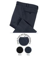 Black Dress Pants Police Security EMT Fireman 29 Top Brass Men's 609MBK New - $33.29