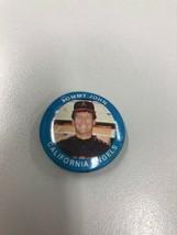 Tommy John Angels Fun Foods MLB Baseball Button Badge Pin Pinback Vintage - $3.56