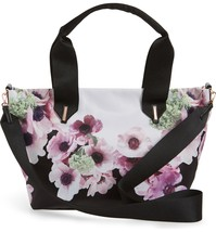 TED BAKER LONDON ABIAH NEAPOLITAN SMALL NYLON TOTE - $119.00