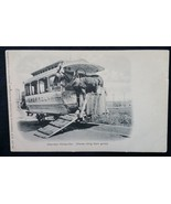 Cherrelynn Streetcar Working Horse Getting Ride Denver, Colorado.CO  c.1... - $13.10