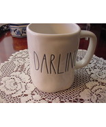 Rae Dunn DARLING Mug, Ivory with Black Lettering - $12.00