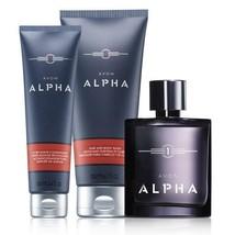 Avon Alpha For Men Trinity Grooming Set  - $35.98