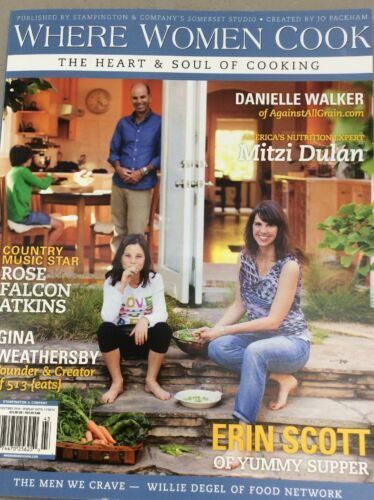 Where Women Cook Vintage Magazine Fall 2014 Cooking Nutrition Homemade Family
