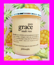 Philosophy Pure Grace Nude Rose Whipped Body Creme Cream Lotion Moisture 16 Oz - $35.63