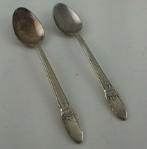 First Love 1847 Rogers Bros Silverplate 2 Teaspoons Vintage - $4.95