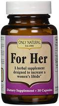 Only Natural Sexy Lady, 500 mg, 30-Count - $14.49