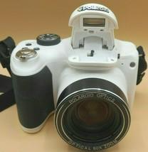 Polaroid iX 5038 Digital Camera 50x Zoom Lens, White  *PARTS ONLY* - $23.99