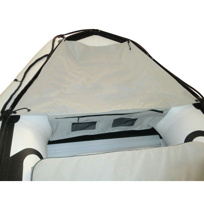 Inflatable boat bow storage bag waterproof  for 12 ft to 13 ft inflatable boat
