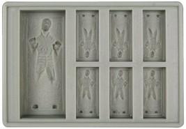 *Kotobukiya Star Wars silicon ice tray Han Solo in carbonite Character G... - $14.93