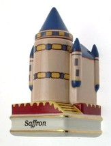 Danbury Mint c1993 Spices of The World Spain Alcazar Castle Saffron Spice jar CL - $31.84