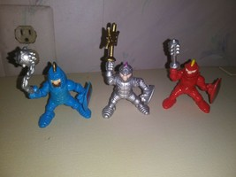Fisher Price Great Adventures Red Knight and Blue Knight and Silver Knig... - $19.80
