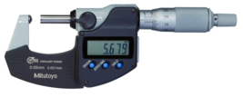 Mitutoyo 395-251-30 Digital Tube Micrometer, Spherical Anvil 0-25mm - $369.99