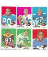 1969 Topps Dallas Cowboys Team Set with Don Meredith, Bob Hayes, Bob Lilly - $33.05