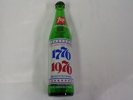 ORIGINAL Vintage 1976 7 Up Bicentennial Liberty Bell Bottle - $13.99