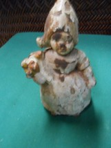 "Great Collectible ANTIQUE 1930""s Primitive Cast Iron COIN Bank..DUTCH GIRL - $59.87"