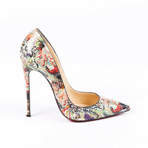 Christian Louboutin Pigalle Snakeskin Pumps SZ 38 - $560.00