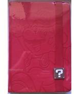 Super Mario Red Hardcover Blank Writing Journal Notebook Licensed Nintendo - $22.28
