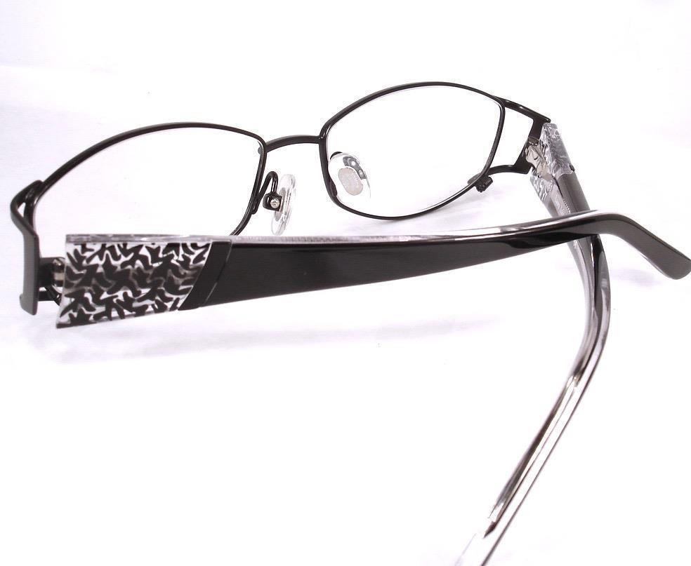 8e84b8f7e09 Laura Ashley Eyeglasses Maddie Caviar Black Women Frames New 53-15-135