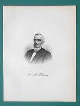 WILLIAM McPHERSON Scotland Born Michigan Merchant & Banker - 1878 Antiqu... - $19.80