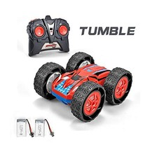 Jujuism Cyclone Remote Control Double Sided RC Vehicle with 2 Batteries ... - $926,13 MXN
