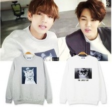BTS K-POP Bangtan Boys V JIMIN Sweatshirts Spring and autumn and winter ... - $53.04