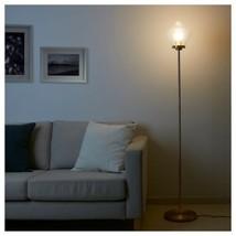 Ikea Återsken Floor Lamp, Clear Glass - $108.89