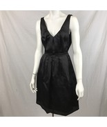 J. Crew Women Silk Dress Size 2 Classic Cocktail Prom Evening V Front & ... - $36.75