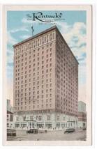 Kentucky Hotel Louisville KY 1920c postcard - $5.94