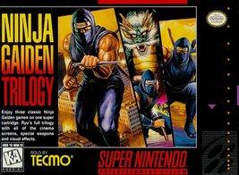 Ninja Gaiden Trilogy (Super Nintendo, SNES) - Reproduction Cartrdige w/ Custom M - $39.99