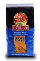 HEB Cafe Ole Whole Bean Coffee 12oz Bag (Pack of 3) (French Roast Roast) - $47.51