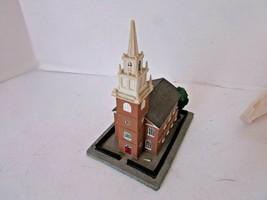 DANBURY MINT HISTORIC AMERICAN CHURCHES OLD NORTH CHURCH BOSTON MASS AS ... - $9.85
