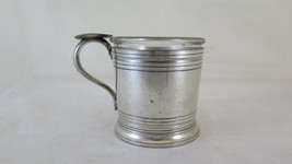 Ashtray Vintage Ashtrays Collectibles IN Metal silver plated & Glass R132 - $27.05